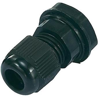 Cable gland PG21 Polyamide Black (RAL 9005) KSS EGRWW21 1 pc(s)