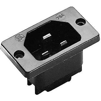 Hot wire connector C22 Series (mains connectors) 784 Plug, vertical mount