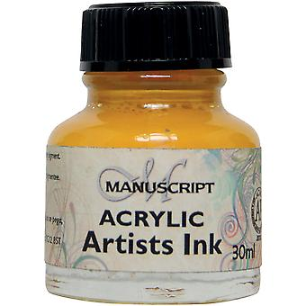 Manuscrit artistes acrylique encre 30ml-brillant jaune MDP0-44