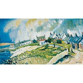 John Lowrie Morrison print - Storm Coming, Iona
