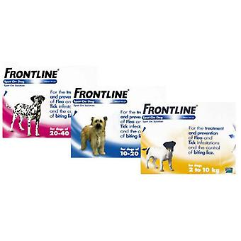 Frontline Spot On Dog 6 Pipettes (Garden , Animals , Dogs , Anti parasitic)