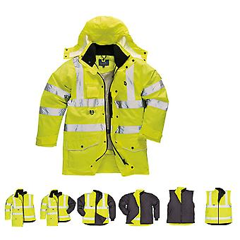 Portwest S427 Hi-Vis 7-in-1 Jacket