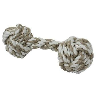 Arquivet Y Knot White Bone Beige (Dogs , Toys & Sport , Ropes)