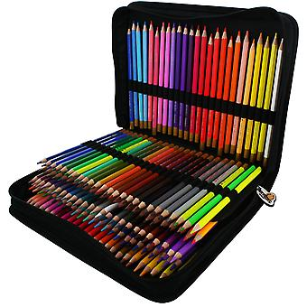 Colored Pencil Set & Zippered Case 150/Pkg-Assorted 1504