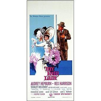 Min Fair Lady film plakat (11 x 17)