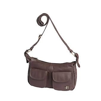 Dr Amsterdam shoulder bag Basil Fudgesickle Brown