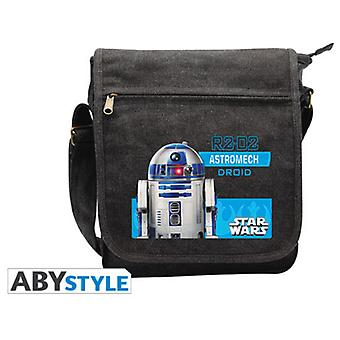 Abysse Star Wars Messenger Bag R2D2 Small Size With Hook (Toys , School Zone , Backpacks)