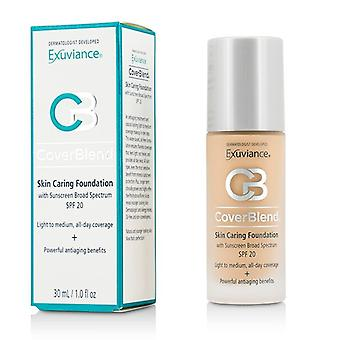 Exuviance CoverBlend piel memorable Fundación SPF20 - # True Beige 30ml / 1oz
