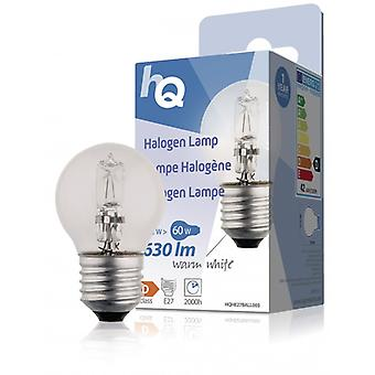 HQ halogen lamp E27 in ball form 42 W 630 lm 2 800 K