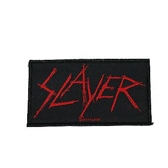 Slayer Scratched Logo Woven Patch