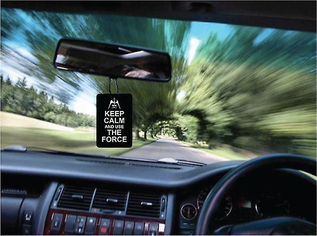 Keep Calm And Use The Force Car Air Freshener