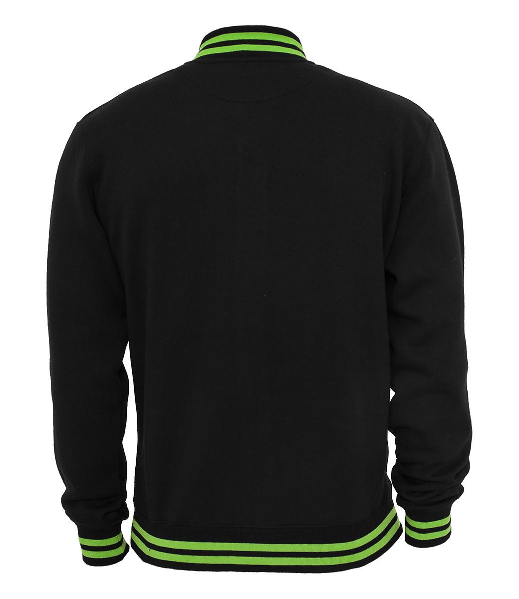 Urban classics contrast College Sweatjacket