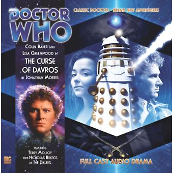 The Curse of Davros (Doctor Who) (Audio CD) by Morris Jonathan