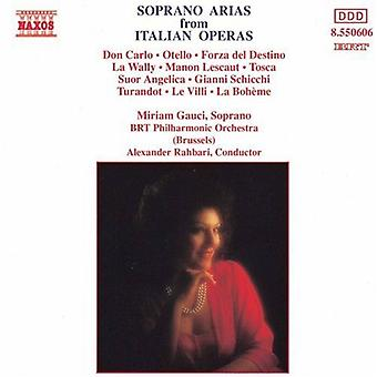 Miriam Gauci - Soprano Arias From Italian Operas [CD] USA import