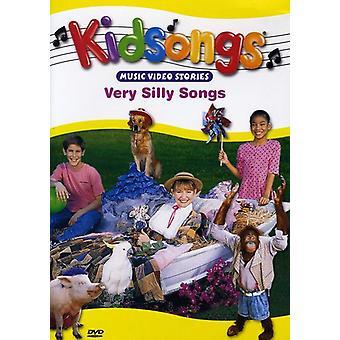 Kidsongs - meget fjollede sange [DVD] USA importerer