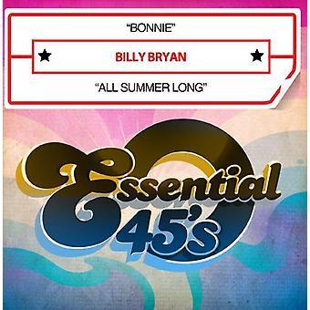Billy Bryan - Bonnie/All Summer Long [CD] USA import