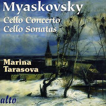N. Mjaskovski - Mjaskovski: Celloconcert; Cello Sonatas [CD] USA importeren