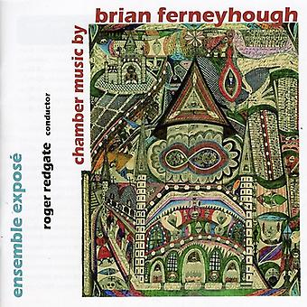 Brian Ferneyhough - kammermusik af Brian Ferneyhough [CD] USA import