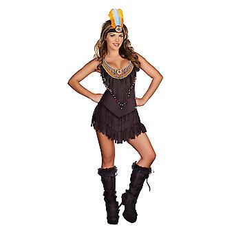 Indian Native American Reservation Royalty Pocahontas Western Women Costume