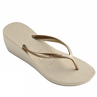 Havaianas high fashion black 4127537 0121 ladies sea shoes