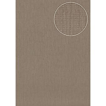 Tree wallpaper Atlas COL-725-2 non-woven wallpaper structured uni colours shimmering grey blue-eyed 5.33 m2