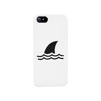 Mini haai witte telefoon Case