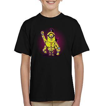 Turneringen Minion Goro Mortal Kombat børne T-Shirt