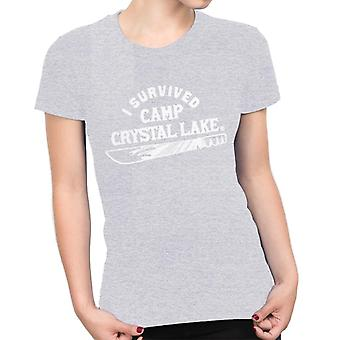 I Survived Camp Crystal Lake Friday the 13th Women's T-Shirt