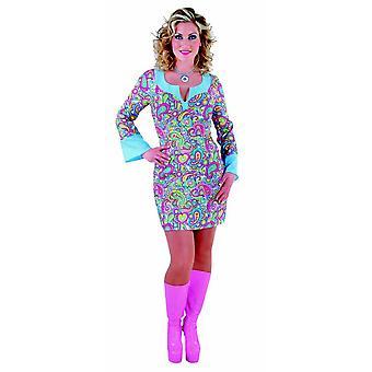 Kvinder kostumer kvinder glade pige disco kjole