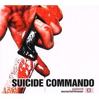 Selvmord Commando - Guds gave/Menschenfresser [CD] USA importerer
