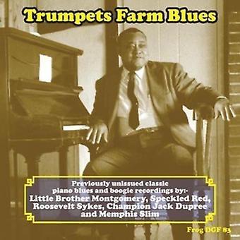 Forskellige kunstner - trompeter Farm Blues [CD] USA importerer