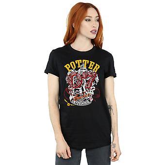 Harry Potter Women's Gryffindor Seeker Boyfriend Fit T-Shirt