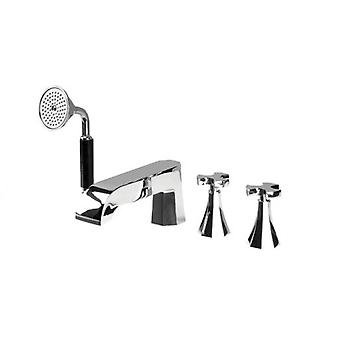 Galindo Battery bath-shower with shower accessories belmondo