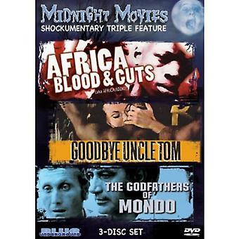 Midnat film - midnat film: Vol. 12-Shockumentary tredobbelt funktion [DVD] USA import