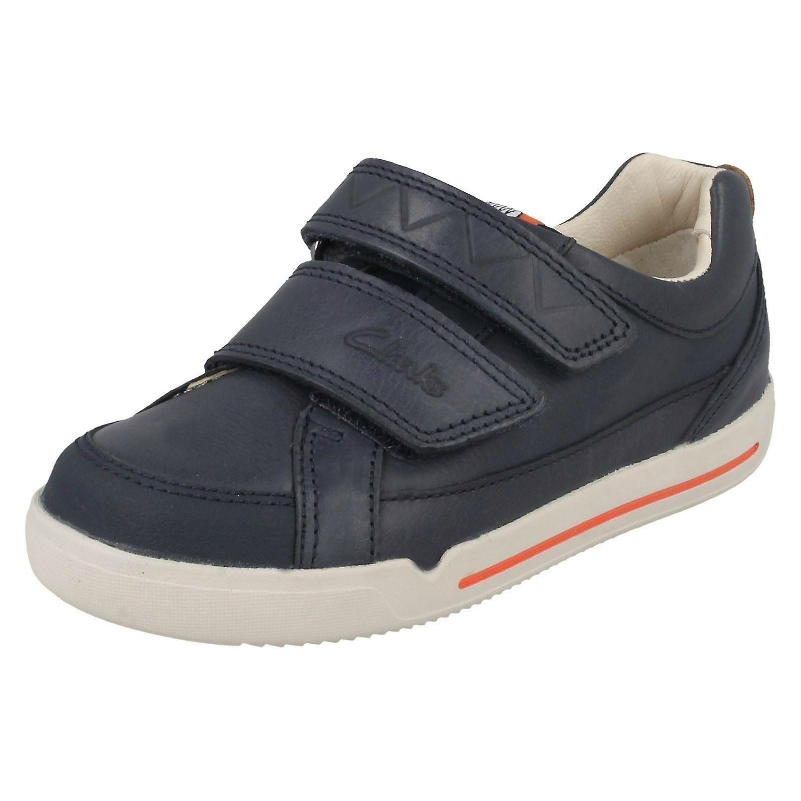 Garçons Clarks Double sangle Casual chaussures Lil Folk Toby