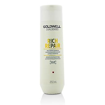 Goldwell Dual Senses Rich Repair Restoring Shampoo (Regeneration For Damaged Hair) - 250ml/8.4oz