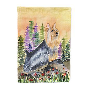 Carolines skatter SS8262-flagg-foreldre Silky Terrier flagg