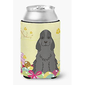 Easter Eggs Cocker Spaniel Black Can or Bottle Hugger
