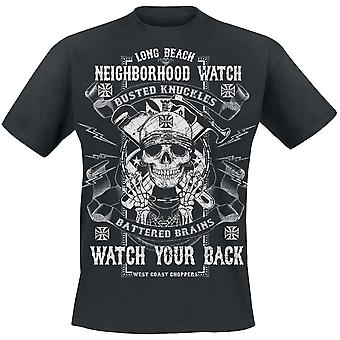 West Coast choppers T-Shirt busted knuckles