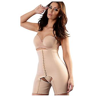 Esbelt ES044 Women's Nude Firm/Medium Control Slimming Shaping All In One Body