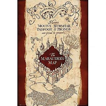 Cartel de Harry Potter Merodeadores mapa 293