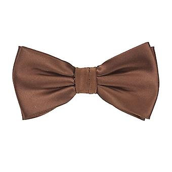 Frédéric Thomass fly loop bow tie tied Brown polyester clasp