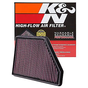 K&N 33-2434 High Performance Replacement Air Filter