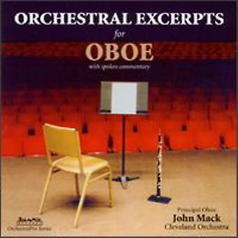 Jahn Mack - Orchestral Excerpts for Oboe [CD] USA import