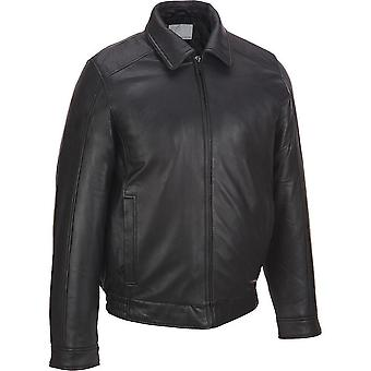 Dehar Mens Leather Jacket