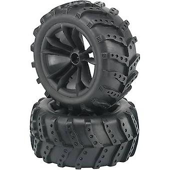 Reely 1:10 Monster truck Wheels Extreme 5-double s