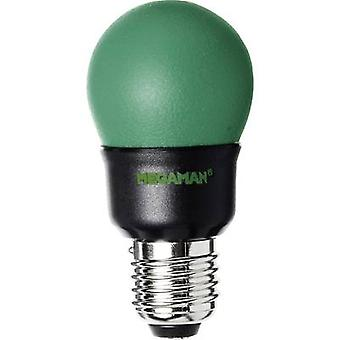 Energy-saving bulb Megaman 230 V 7 W Green EEC: Special purpose bulb Globe shape Content 1 pc(s)