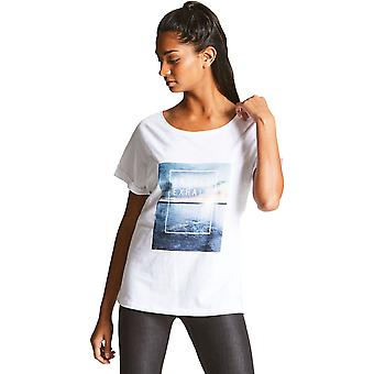 Dare 2b Womens/Ladies Laidback Cotton Casual Graphic Logo T Shirt
