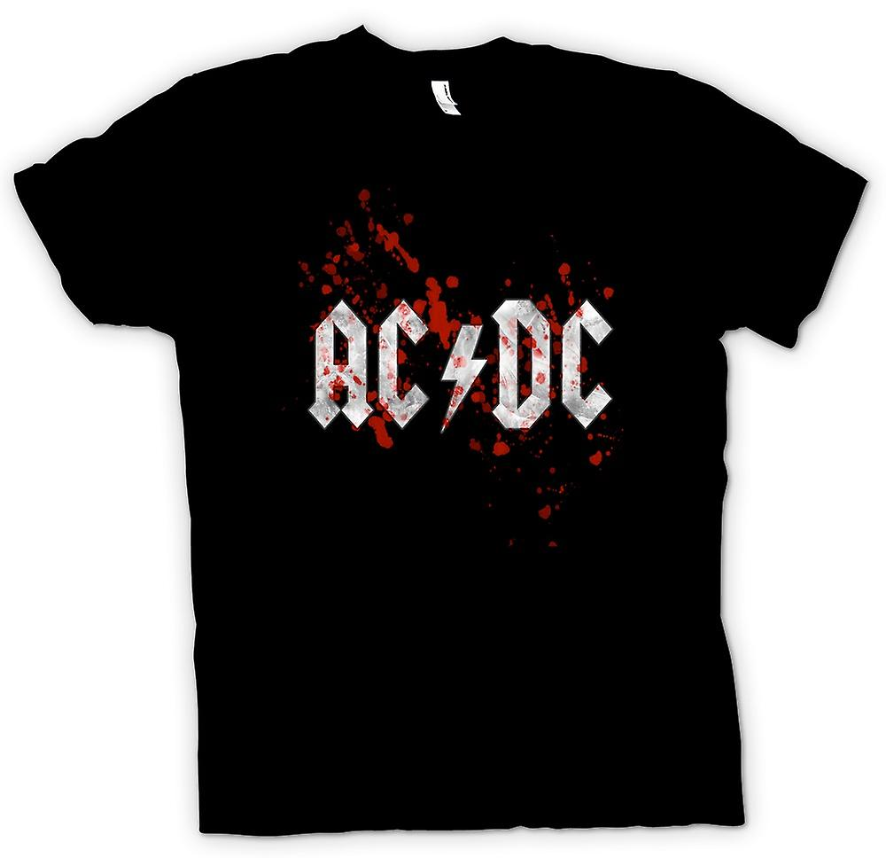 Womens T-shirt - AC/DC - Rock Band - Logo