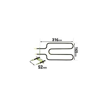 Rangemaster Grill Element 1150w